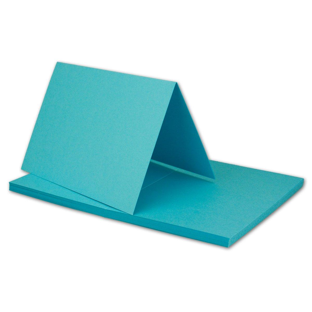 250x Falt-Karten DIN A6 Blanko Doppel-Karten in Hochweiß Kristallweiß -10,5 x 14,8 cm   Premium Qualität   FarbenFroh® B07KHYQFN2 | Deutschland Outlet