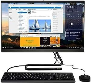 """Lenovo IdeaCentre A340 All-in-One PC, 23.8"""" Touchscreen, 9th Gen Intel Core i3, 8GB Memory, 1TB Hard Drive, Windows 10"""