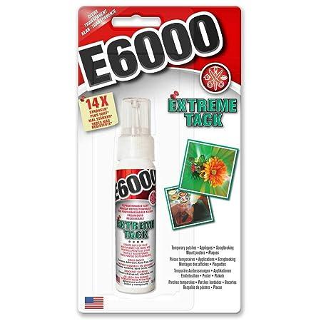 E6000 Extreme Tack pegamento de reposicionamiento adhesivo ...