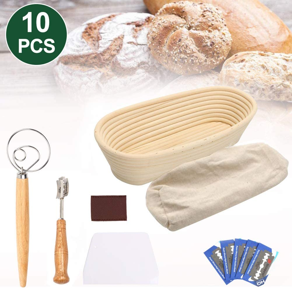 Oval Bread Proofing Basket 14'', Banneton Proving Basket