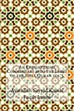 img - for An Enlightening Commentary into the Light of the Holy Quran vol 3 book / textbook / text book
