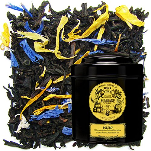 MARIAGE FRERES. Bolero, 100g Loose Tea, in a Tin Caddy (1 Pack) Seller Product Id MRLS57 - USA Stock