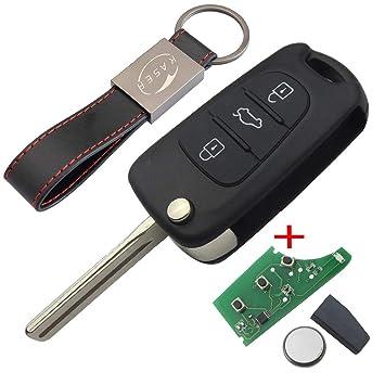 Llave para Hyundai Kia con Tarjeta Electrónica: Amazon.es ...
