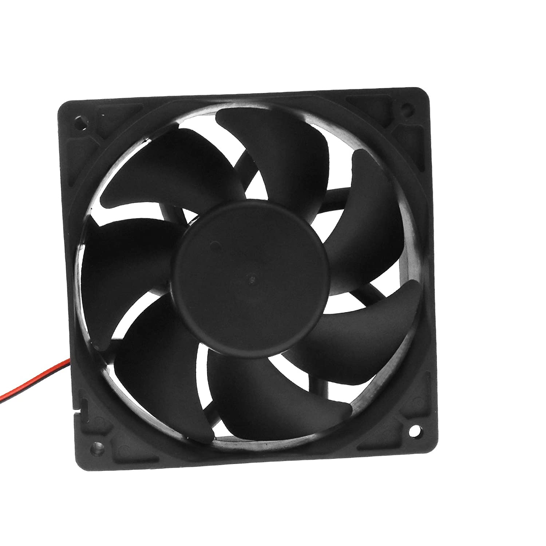 Create Idea Ventilateur de Refroidissement DC 2Pin roulement Boule 12V 0.6A 120x120x38mm avec CE pour Ordinateur PC