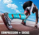 CHARMKING Compression Socks for Women & Men