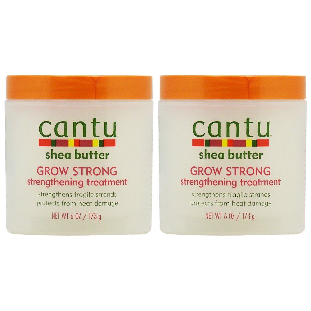 """Discount Cantu Grow Strong Strengthening Treatment 6oz """"Pack of 2"""""""