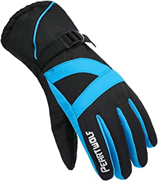 Blisfille Guantes Invierno Ciclismo Guantes Mujer Bicicleta ...