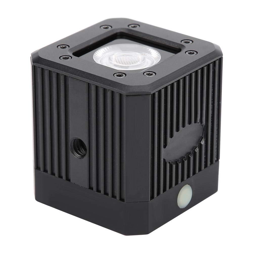 Vbestlife Mini LED Camera Light for Gopro, Waterproof Diving Underwater 20M 3200K-5600K Dimmable Photography Fill Light Lamp (Black) by Vbestlife