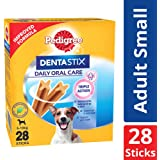 Pedigree Dentastix (Value) Oral Care Dog Treat for Adult Small Breed (5, 10 kg) Dogs, 440 g Monthly Pack (28 Sticks)
