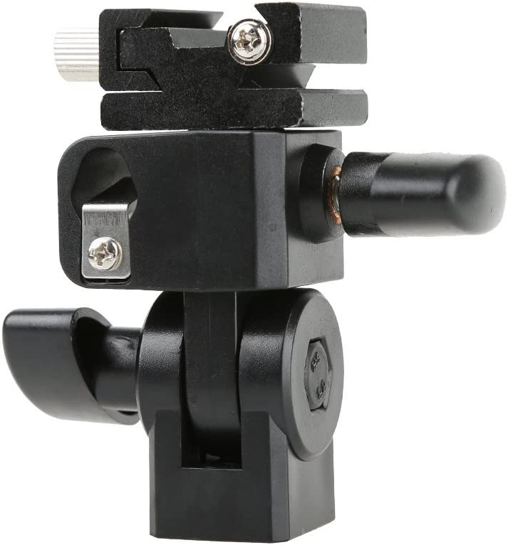 Godox Type E Flash Speedlite Hot Shoe Umbrella Light Holder Universal Mount Stand Flash Bracket for TT685 V850 V860II TT350 TT600 V350
