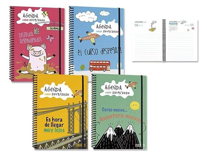 Agenda Escolar 19-20 1/8 1 Dia Por Pagina Comics Surtido A ...