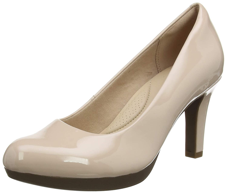 2b81b3789f5 Clarks Women s Adriel Viola Closed-Toe Pumps  Amazon.co.uk  Shoes   Bags