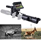 KOLINLOV Night Vision Scope for Riflescope Long Viewing Range Night Hunting Clear Vision with Camera Infrared Flashlight…