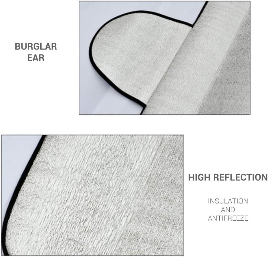 Protector contra el Calor del Parabrisas del Hielo de Hielo para Cubrir el Parabrisas 150 x 70 cm EisEyen