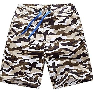 47ed81c3ab Men's Quick Dry Swim Trunks Summer Beach Beachwear Swim Sports Wear Men's  Elasticated Waist Casual Trousers