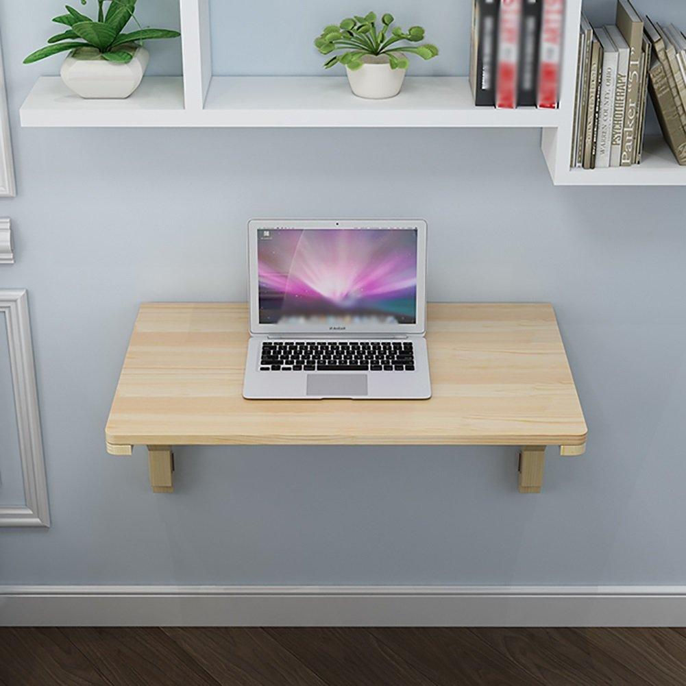 ソリッドウッド壁掛け式ダイニングテーブル壁掛けコンピュータデスクサイドテーブル (サイズ さいず : 100*40cm) B07DNMVX1R 100*40cm 100*40cm