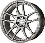 Work Wheels / Emotion CR Ultimate /17×9.0j / ★ Custom Order PCD: 4H-98 ~ 114.3 5H-100 ~ 120 ★ / INSET +38 or +28 or +17 / GT Silver (GTS)