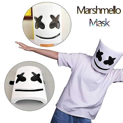 Amazon.com: Mysterious Marshmello Helmet Top 10 DJ Mask ...
