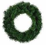 Douglas Fir Evergreen 24 Inch Artificial Decorative Hanging Christmas Wreath