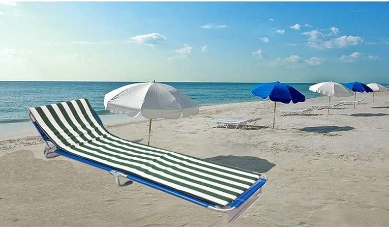LEMON TREE SL Cojín Colchón para Tumbona o Mueble para Jardín, Playa, Exteriores. Cojín Suave Asiento terraza etc. Medidas 180x50x3cm.: Amazon.es: Hogar