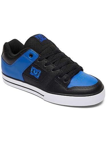 3c342657fa0f04 DC Schuhe in Übergrößen - Pure 300660 Black Blue White  Amazon.de ...