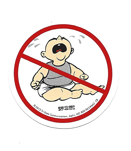 10 no cry babies stickers no whiners no crybabies amazon com
