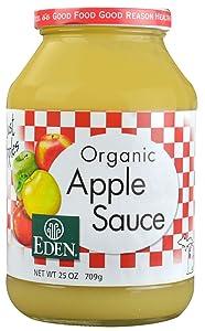 Organic Apple Sauce 25 Ounces (Case of 12)