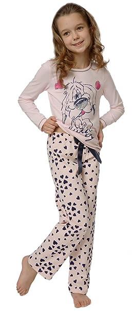 Italian Fashion IF Pijamas para Niña Agnes 0223 (Rosa Claro, 86-92)