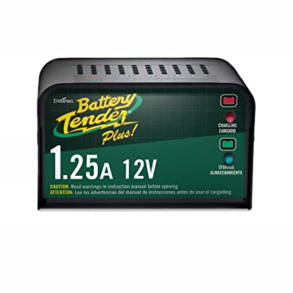 Amazon.com: Battery Tender 12-Volt 1.25 Amp Battery Charger ...