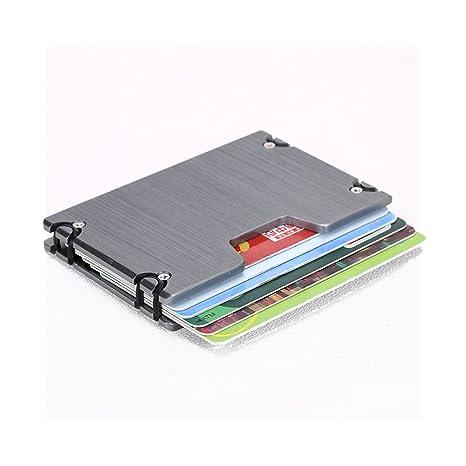 Amazon.com: LXJ tienda bloqueo RFID titular de la tarjeta de ...