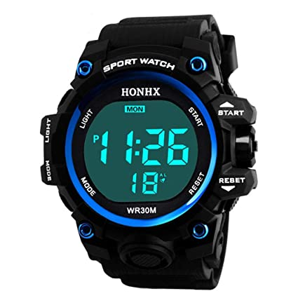 Y56 Fashion Sport LED Resistente al Agua Digital Watch Reloj de Pulsera, Mode Outdoor Cuarzo
