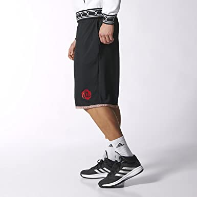 eb1b5cfd005e Adidas Performance Derrick Rose Basketball Shorts Rose Madness Short  M37858. Colour - Black. Size