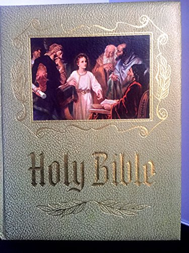 - Holy Bible Master Reference Edition Authorized or King James Version New and Old Testament Red Letter Edition Illustrated