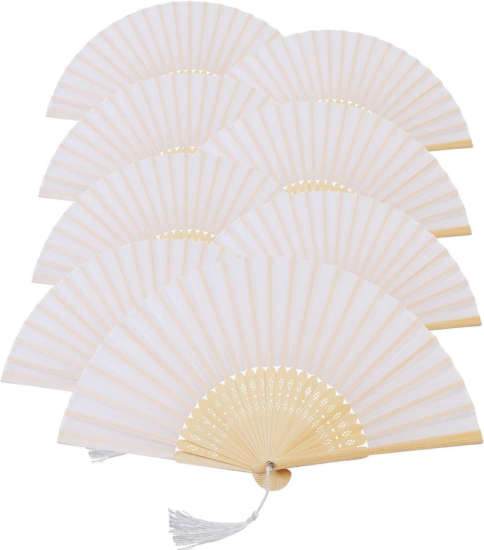 Vintage Style de danse fête de mariage dentelle soie pliable Hand Held Fleur Fan