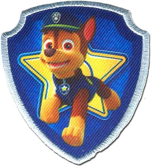 "rosa Parches 6,6 x 5,6 Paw Patrol Patrulla Canina /""Call the Paw Patrol 1/"""
