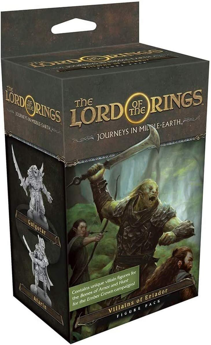 Fantasy Flight Games FFGJME04 Lord of The Rings Journeys in Middle Earth: Villains of Eriador