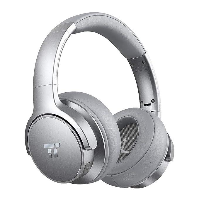 52fb33d449cc9c TaoTronics Active Noise Cancelling Bluetooth Headphones HiFi Stereo  Wireless Over Ear Deep Bass Headset w/