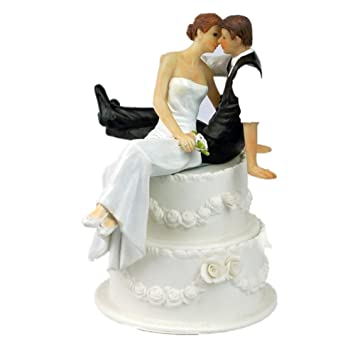 Amazon.com: Derker Wedding Cake Topper Love Bride and Groom ...