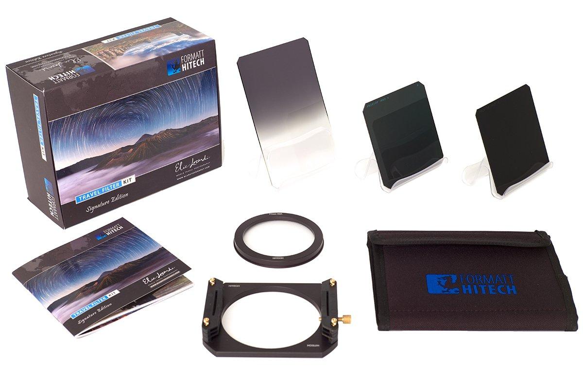 Formatt-Hitech 100mm Resin Travel Filter Kit Elia Locardi Signature Edition (for 58mm Lens Thread) by Formatt Hitech Limited