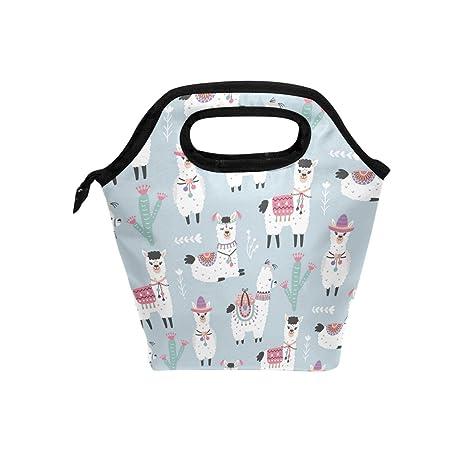 Amazon.com: formrs bolsa de almuerzo refrigerador aislado ...
