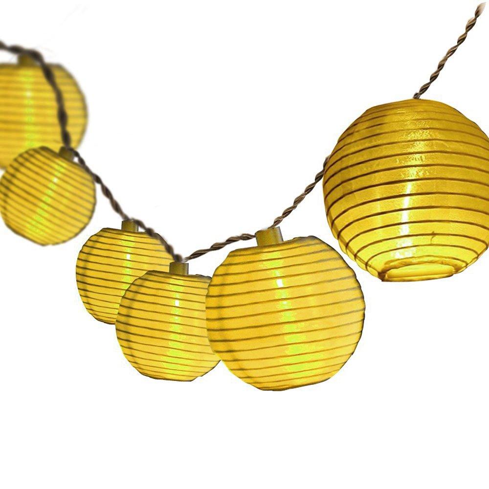 Dailyart? 13.8ft 40 Leds de luz cadena, en interiores, decorar para la Navidad, boda, Halloween, el día de San Valentín-operación de la batería (Blanco Cálido) [Clase de eficiencia energética A+]