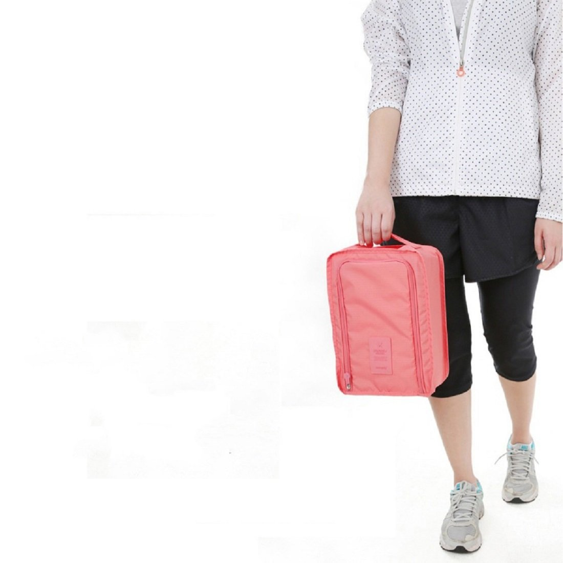 24c738beac7d Waterproof Shoe Travel Pouch Portable Tote Organizer Storage Bag ...