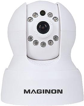 Maginon de vigilancia IP CAM OD de 2 – Interior y Exterior Security CAM con Visión
