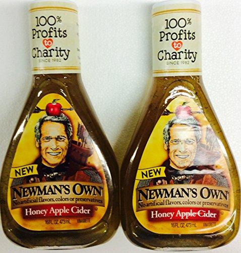 Newman's Own Honey Apple Cider Vinaigrette 16oz (2 count)