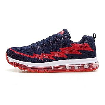 Zapatillas deportivas para hombre y mujer, con cojín de aire ...