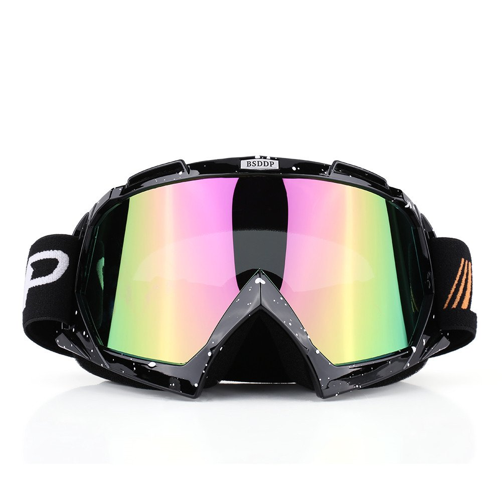 Acouto Motorcycle Motocross ATV Dirt Bike Off-Road Racing Goggles Ski Glasses Eyewear for Men Women Youth Kids(#5)