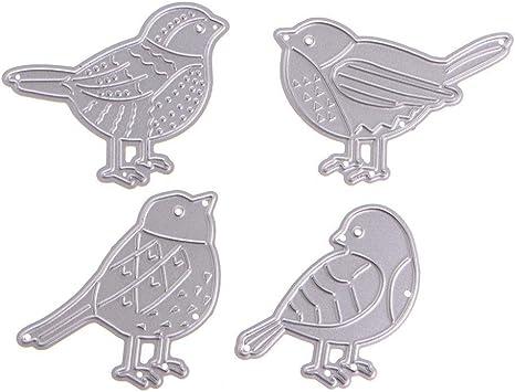 Birds Series Metal Cutting Dies DIY Scrapbooking Craft Embossing Stencil Die Cut