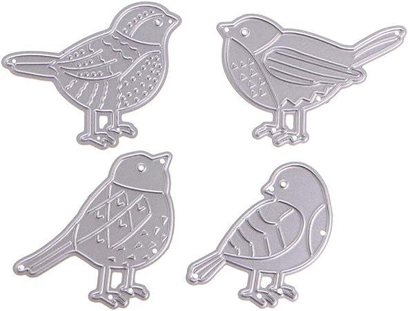 metal cutting dies stencils birds set diy card album photo decors template WdSJU