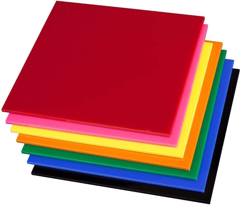 SOURCEONE.ORG Premium 1//8 th Inch Thick Acrylic Plexiglass Sheet