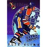 Petr Klima Hockey Card 1992-93 Ultra Import #8 Petr Klima